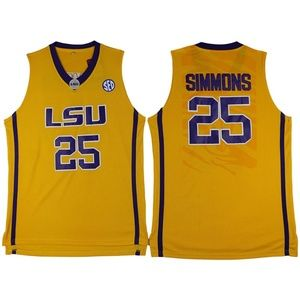 LSU Tigers #25 Ben Simmons college Jersey